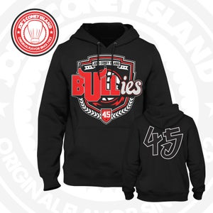 Image of The Bullies - Chicago bulls - Black - Double Nickel -Crew Neck