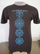"Image of CLEARANCE T-shirt ""Quantum Scaffolding"""