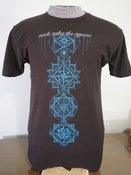 "Image of CLEARANCE T-shirt ""Quantum Scaffolding"""