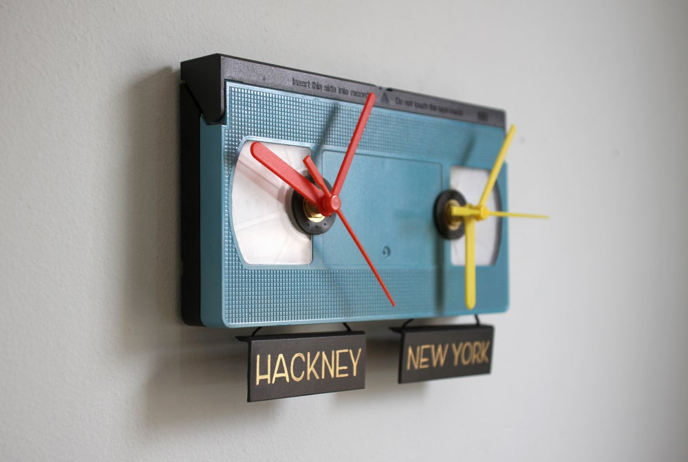 Image of TICK TOCK Timezone VHS Clock
