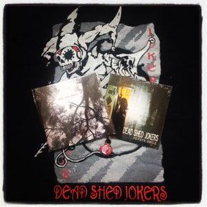 Image of Dead Shed Jokers + T Shirt Bundle