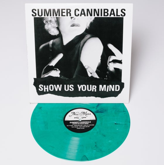 "Image of Summer Cannibals, ""Show Us Your Mind"" - 180 Gram Green Vinyl"