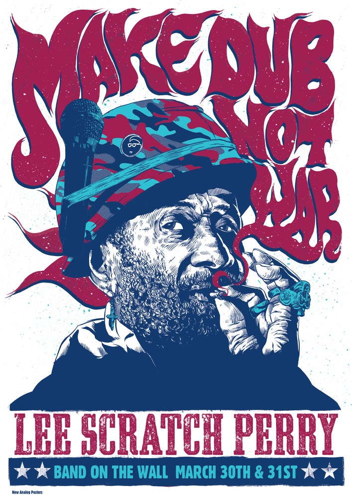 Image of Lee Scratch Perry - Band On The Wall 2015