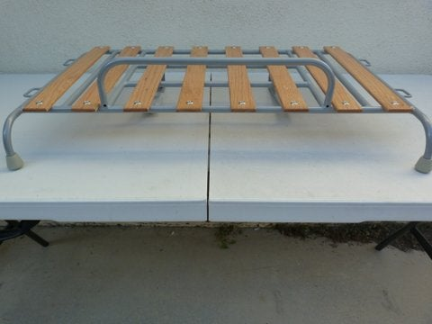 Image of VINTAGE SILVER POWDER COAT VW GHIA DECK-LID