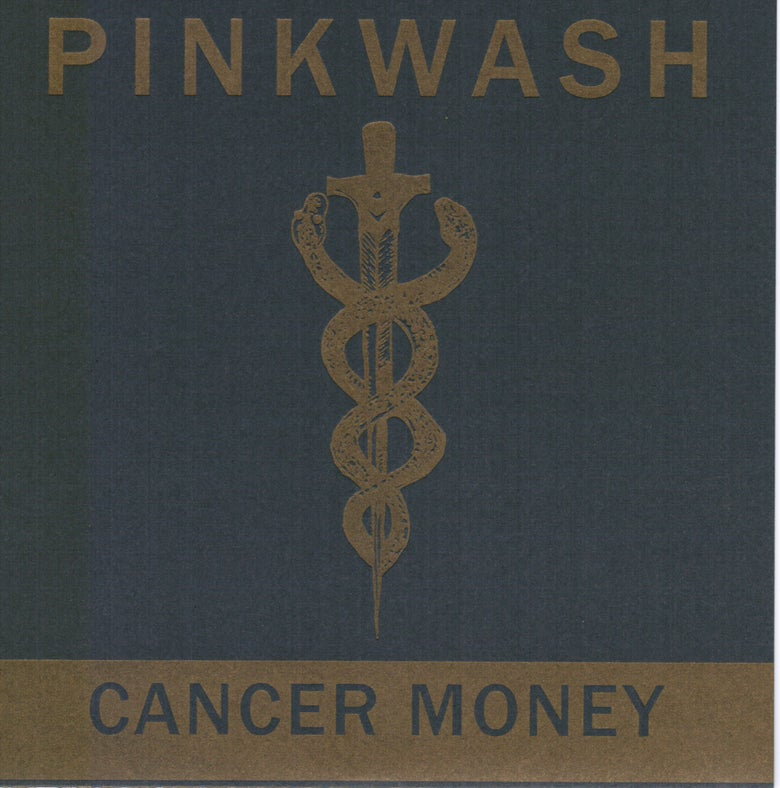 "Image of Pinkwash - Cancer Money b/w Skin 7"" (SPR-010)"