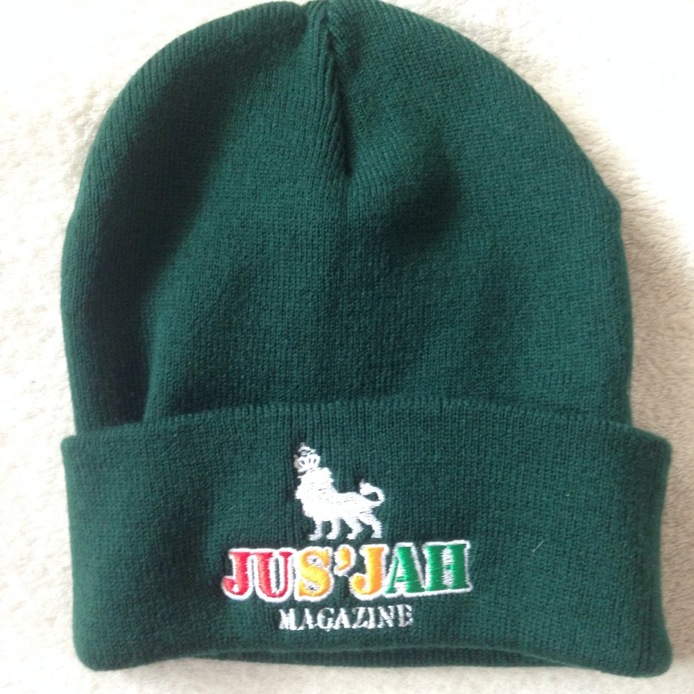 Image of Jus Jah Magazine Beanie Hat