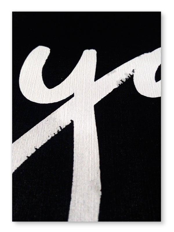 Image of Yay art print - Black