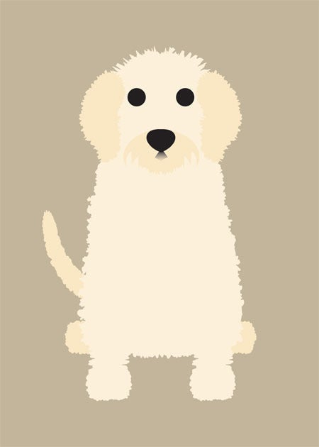 "Image of ""G"" Dog Collection: Golden Doodle, Golden Retriever, Great Pyranees"