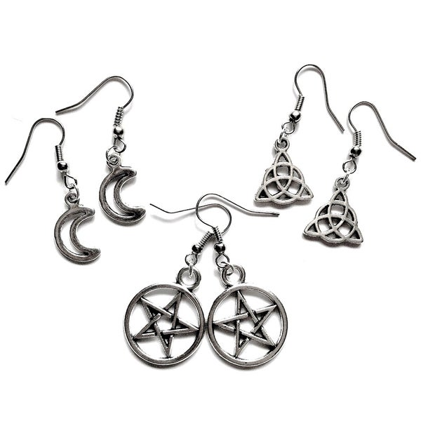 Image of Witchy Charm Earrings