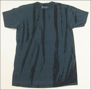 "Image of MJL ""Abstract Flaps"" Indigo Blue T-Shirt"