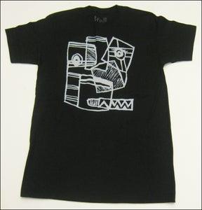 """Image of MJL """"OG Napkin Face Drawing"""" Black T-Shirt"""