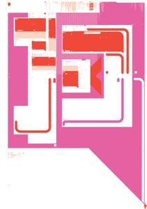 Image of 'Angryman V.07' Spot UV A1 Print