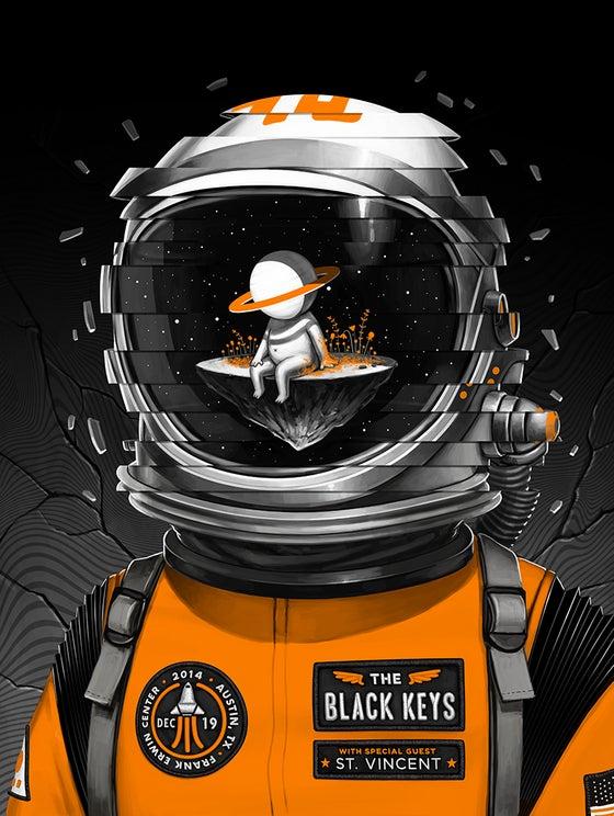 Image of The Black Keys - Austin, TX 14'