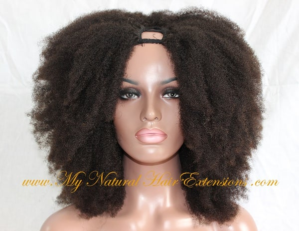 Image of Afro Kinky Curly Wigs for Natural Hair