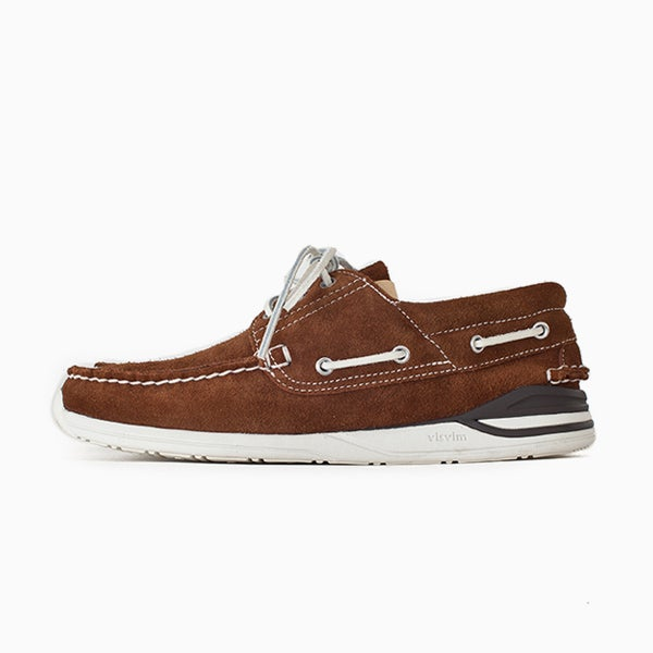 Image of visvim HOCKNEY-FOLK - BROWN
