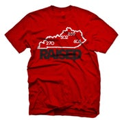 "Image of KY Raised ""Limited Edition"" State Tee in Red / White / Black"