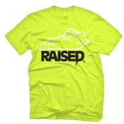 "Image of KY Raised ""Limited Edition"" State Tee in Safety Green / White / Black"