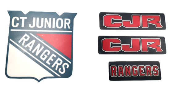 Image of CJR Helmet/Car Decals