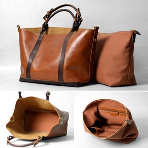 Image of Women's Handmade Leather Handbag / Purse / Shoulder Bag / Messenger Bag (m19)