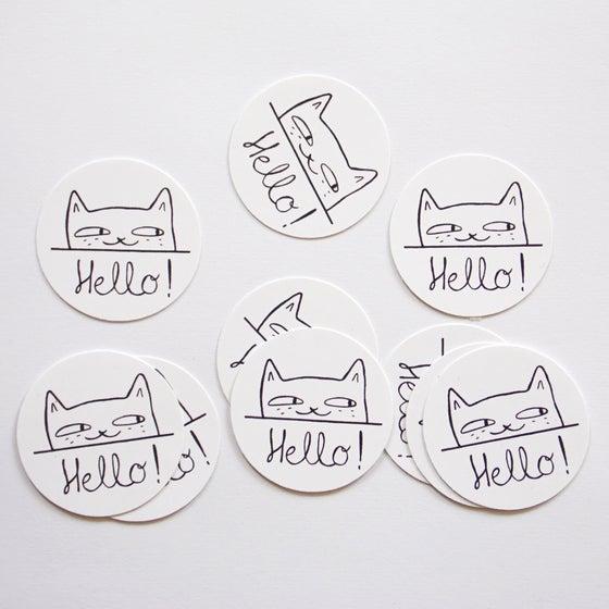 "Image of Stickers ""Hello !"""