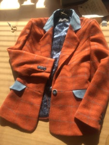 Image of The Evelina Jacket in wool /cashmere mix