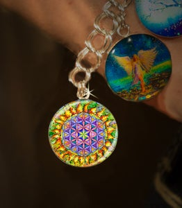 Image of Flower Of Life Sacred Energy Charm