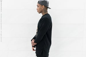 Image of Urban Flavours NYC SOHO Picture Crewneck Black