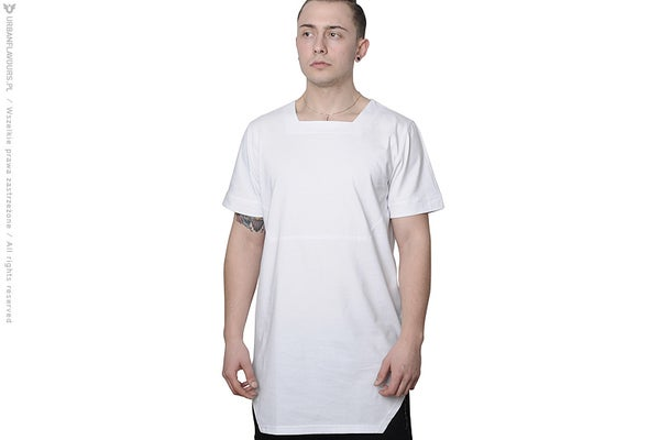 Image of Urban Flavours NYC SOHO Plain T-shirt White