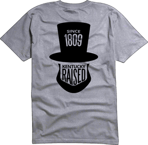 """Image of KY Raised """"Legend Series"""" A.B.E. Tee in Grey & Black"""