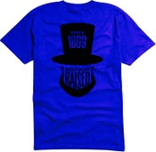 "Image of KY Raised ""Legend Series"" A.B.E. Tee in Electric Blue & Black"