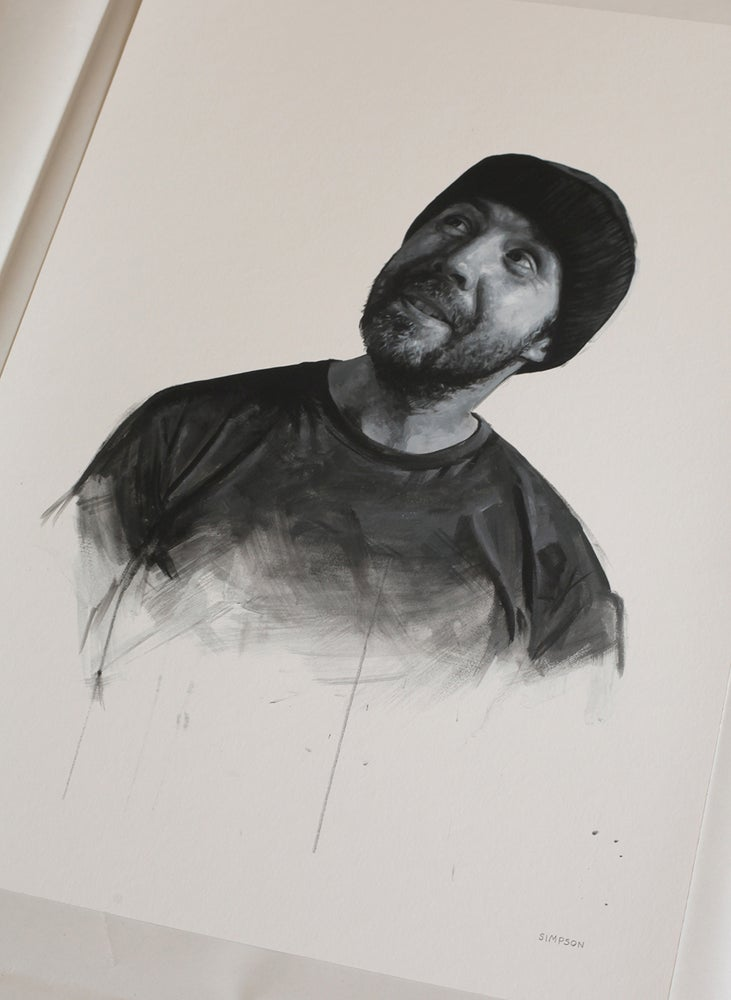 Image of Paddy Considine as Randle McMurphy from One Flew Over The Cuckoo's Nest // Limited Edition print