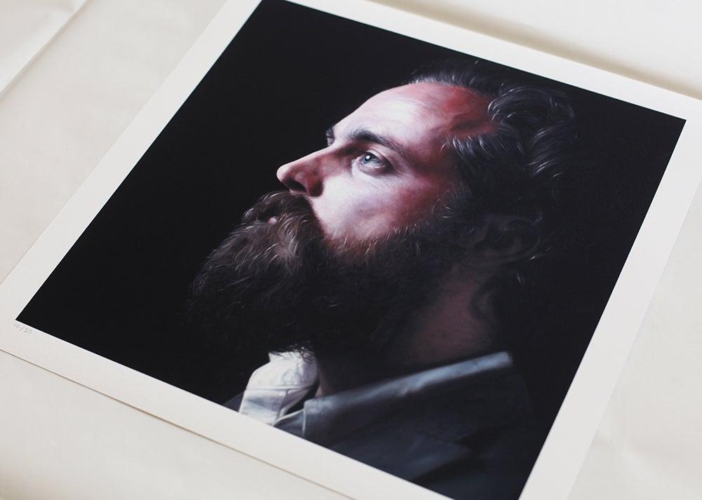 Image of Sam Beam (Iron & Wine) // Limited Edition Print