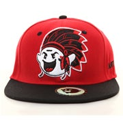 Image of Boogie Chief Snapback - Red/Black