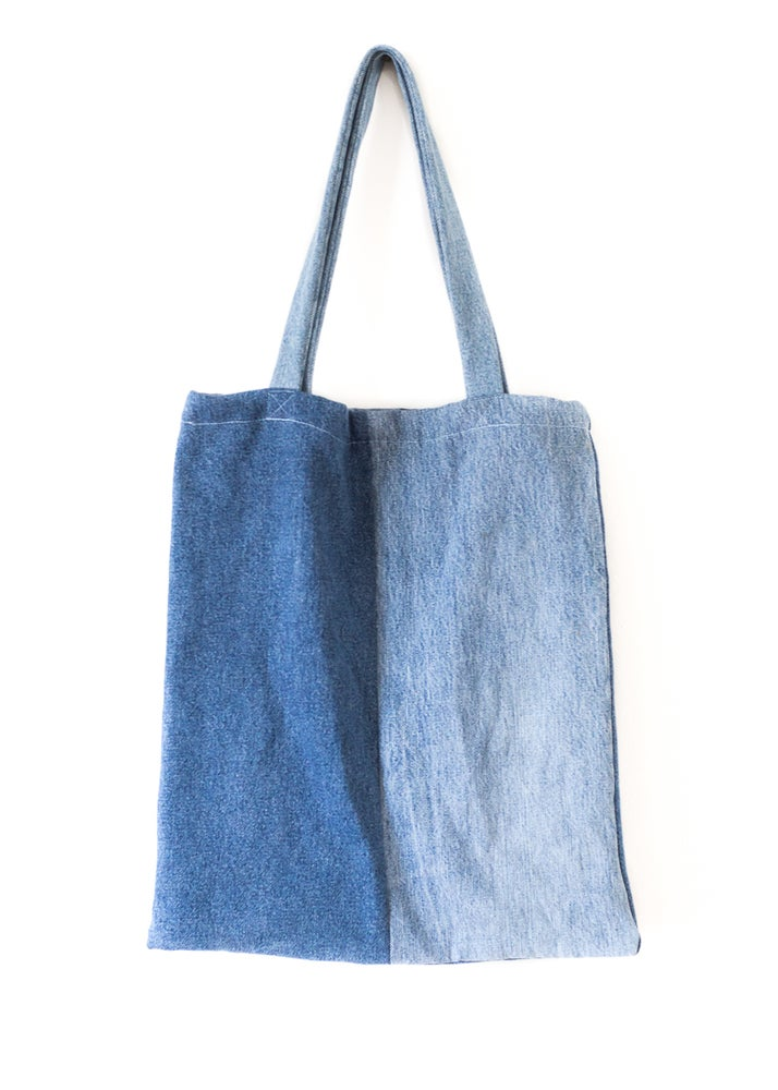 Image of Denim on Denim Tote