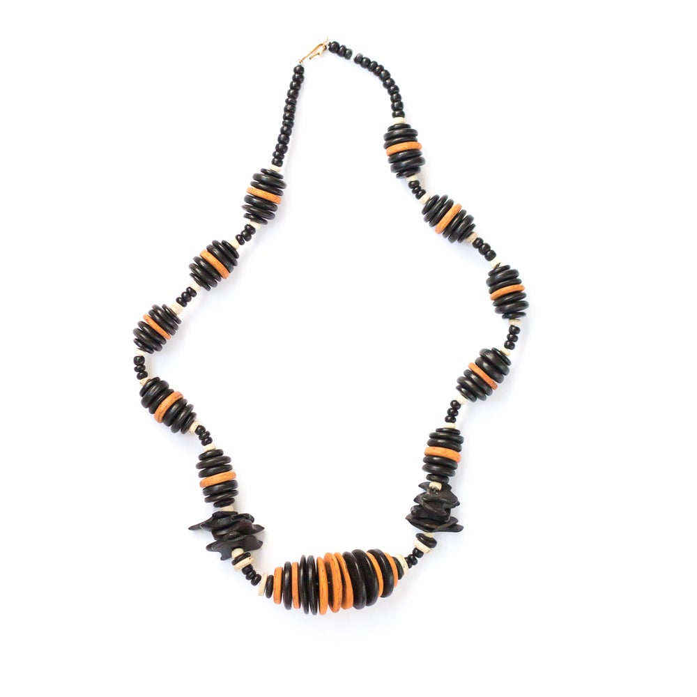 Image of Wood & Bone Necklace - 6