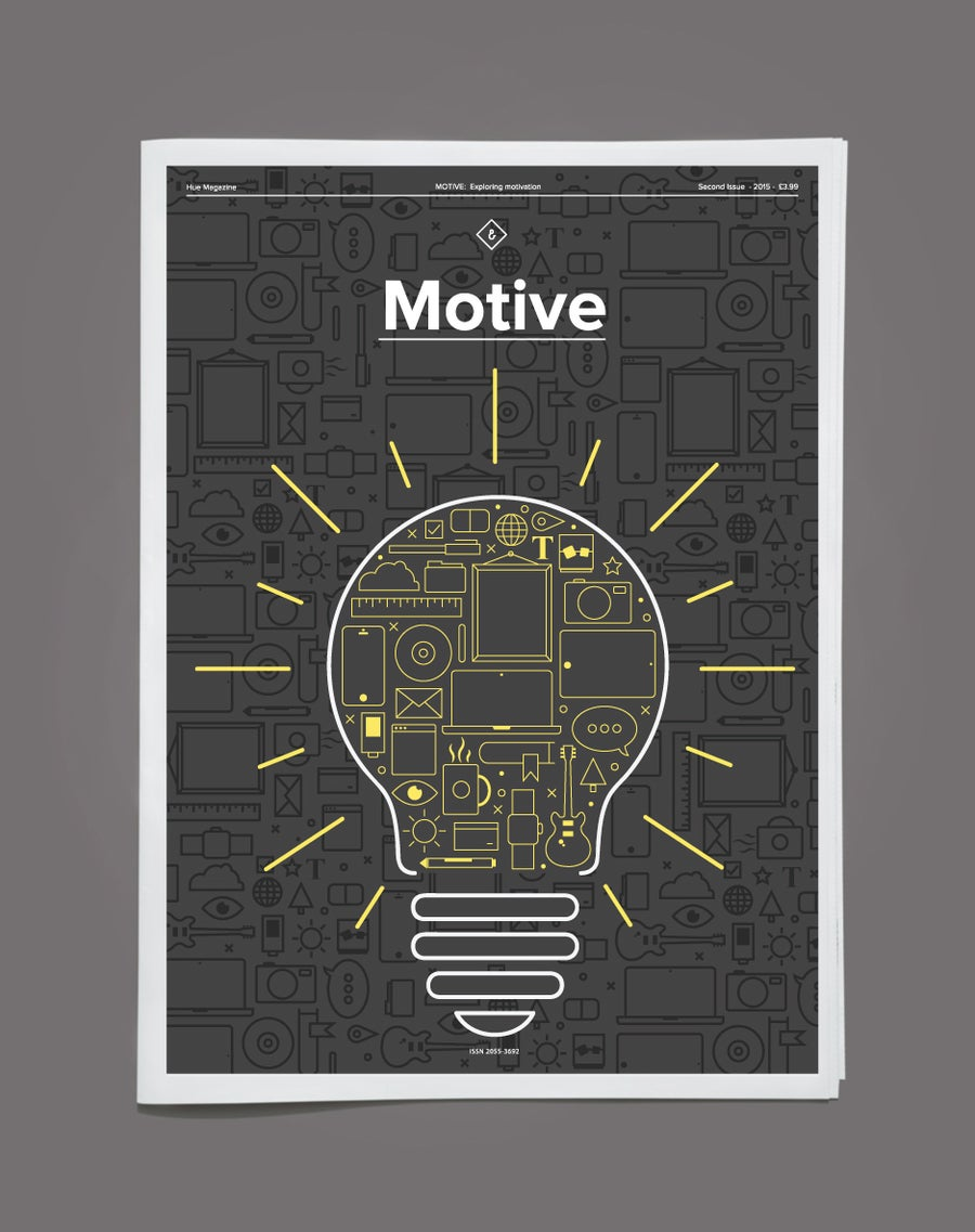 Image of Hue Magazine - Motive (Free P&P to UK Only - Everywhere else £2.50)