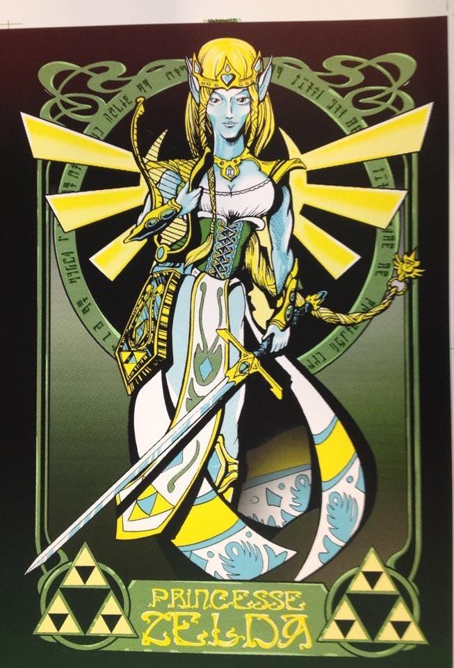 Image of Legend of Zelda Print