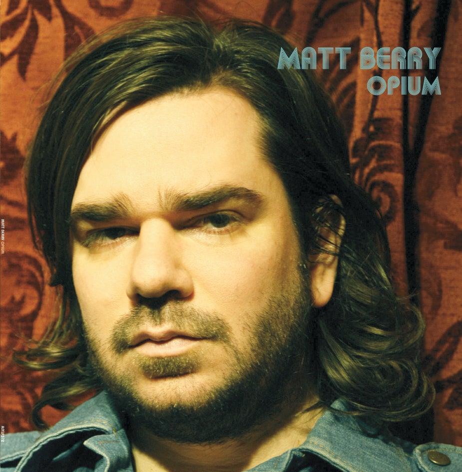 Image of Matt Berry - Limited Edition Orange Opium Vinyl Album - LP