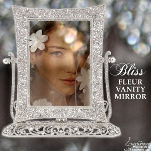 Image of Bliss Fleur Vanity Magnification Mirror