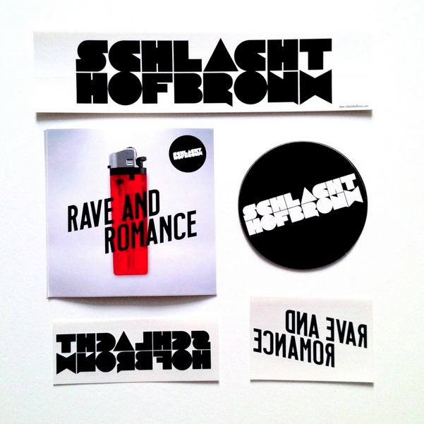 Image of Schlachthofbronx Sticker & Tattoo Set