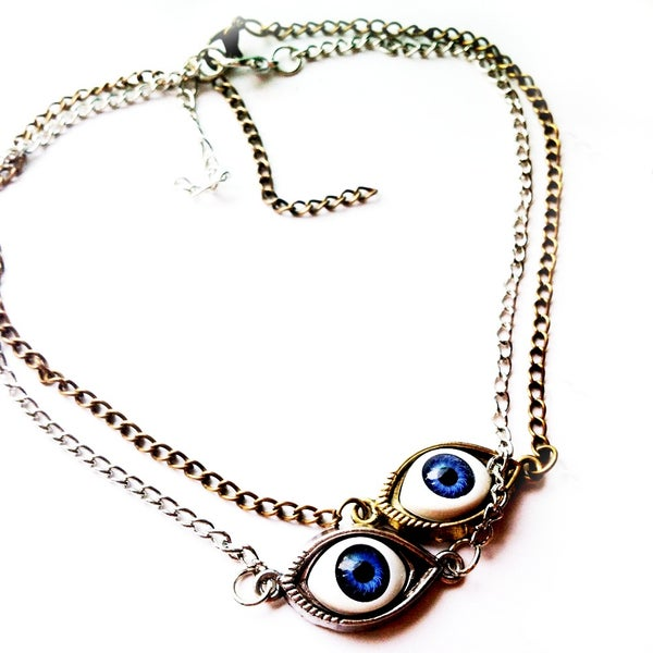 Image of 'Second Sight' Eyeball Choker