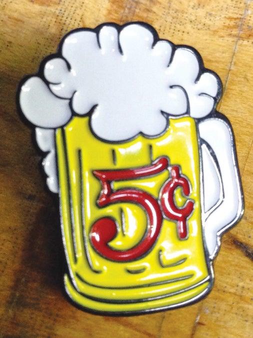 Image of 5 Cent Beer Mug