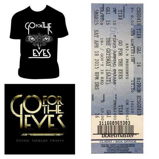 Image of GFTE, Package #2 (Shirt OR Tank, Cd and Ticket)