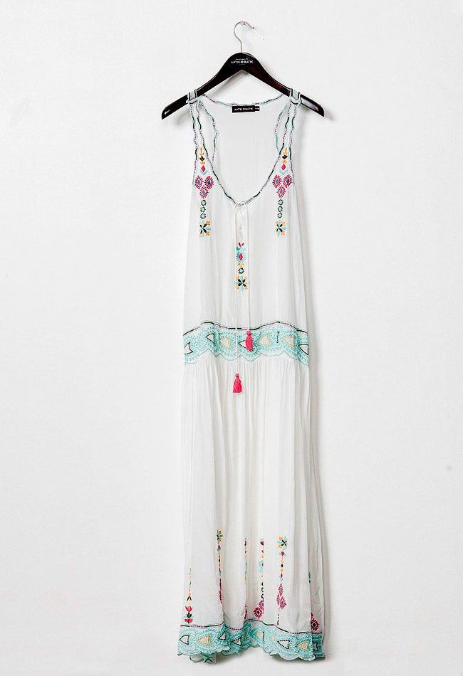 Image of SANAH WHITE DRESS