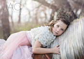 """Image of Glam """"Paris"""" Crown - Vintage Shabby Chic Style - Baby to Adult"""