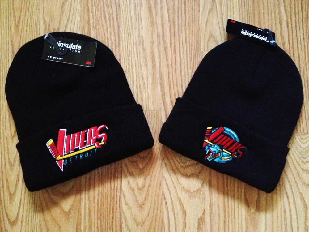 Image of Detroit Vipers Beanies