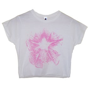 Image of Solo Flower Crop T Shirt