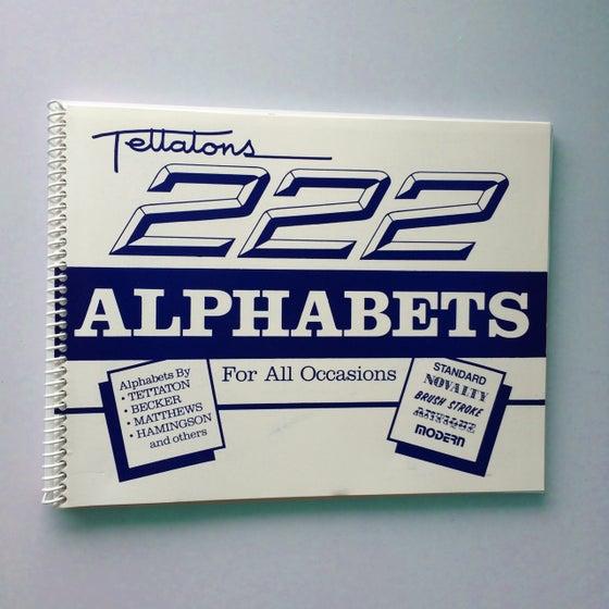 Image of 222 Alphabets