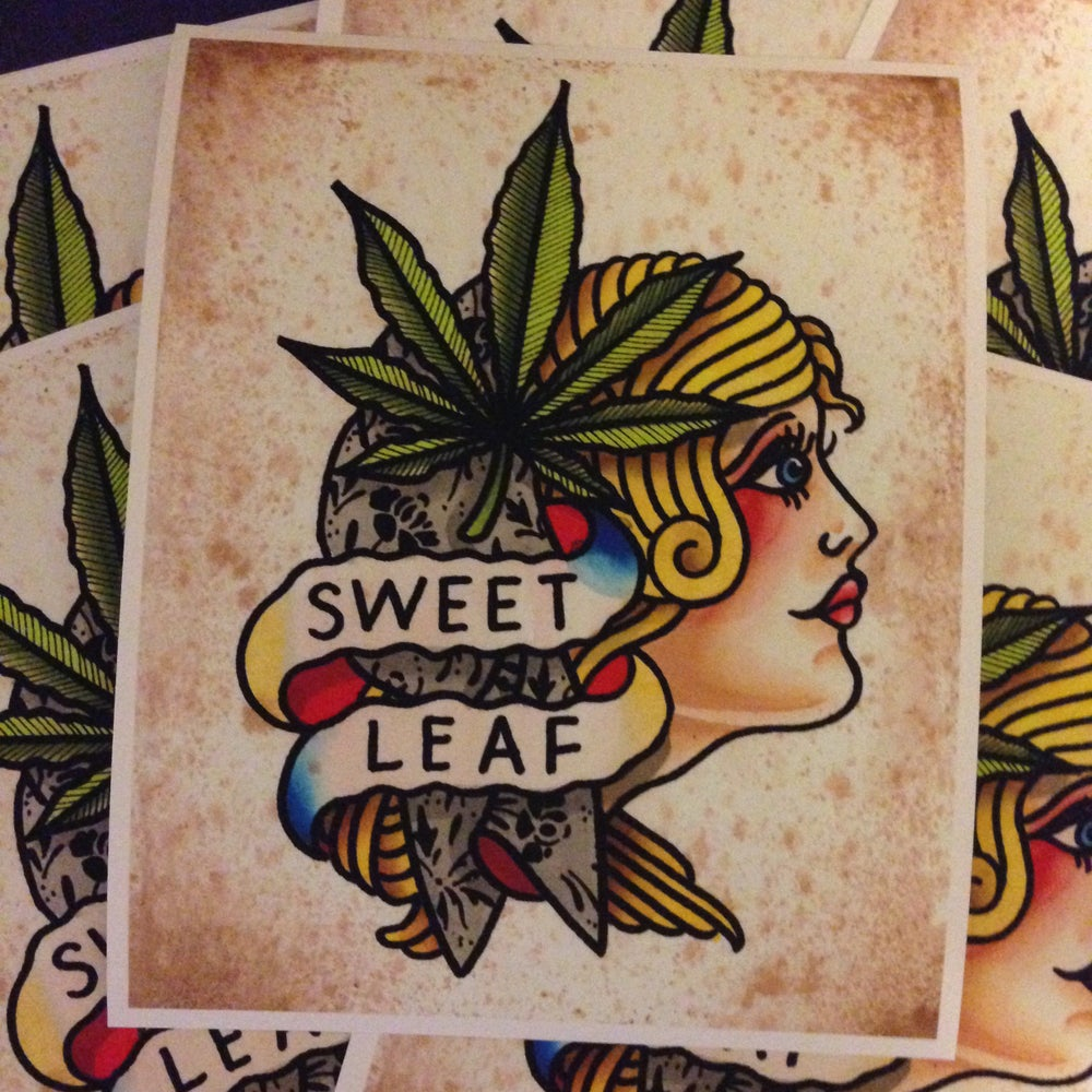 Image of Sweet Leaf Print