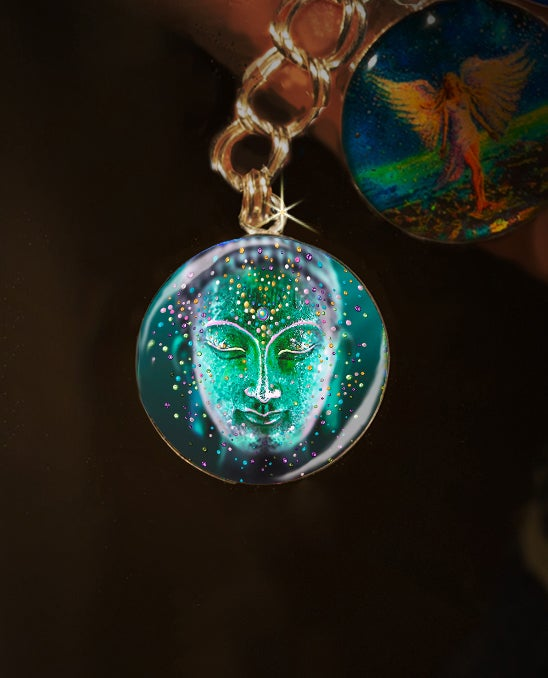 Image of The Jade Buddha Good Luck Energy Charm